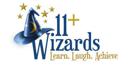 11+ Wizards Retina Logo