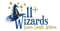 11+ Wizards Logo